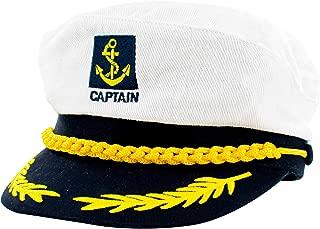 Marinai Deluxe Capitano Cappello Blu Navy pilota FANCY DRESS