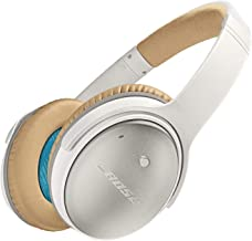 Bose QuietComfort 25 Acoustic Noise Cancelling Headphones for Apple devices, White(wired, 3.5mm) (Renewed)