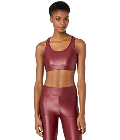 Koral Bermuda Infinity Sports Bra (Ruby/Black) Women