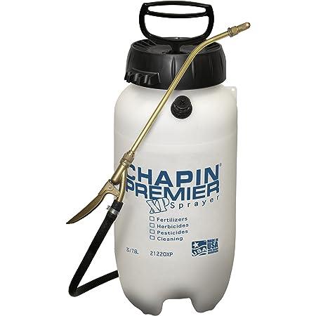Chapin International 21220XP 2-Gallon Premier Pro XP Poly Sprayer for Fertilizer, Herbicide and Pesticides, Translucent White