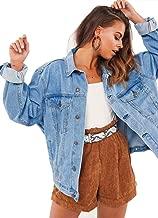 Best oversized denim jacket women Reviews