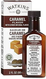 Watkins All Natural Caramel Flavor, 2 Fl Oz (Pack of 6) (Packaging may vary)