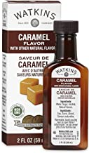 Watkins All Natural Caramel Flavor, 2 Fl Oz (Pack of 6) (Packaging may vary)