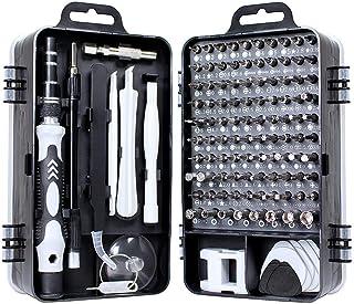 precision screwdriver set,FomaTrade 115 in 1 Professional Screwdriver Set, Multi-function Magnetic Repair Computer Tool Ki...