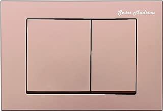 rose gold flush plate