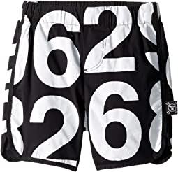 Numbered Surf Shorts (Infant/Toddler/Little Kids)