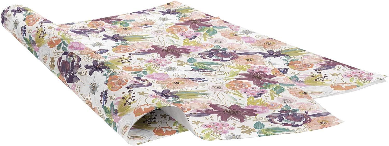 Jillson Roberts Seidenpapier, Seidenpapier, Seidenpapier, bedruckt, mit Zweigen, 50,8 x 76,2 cm, 240 Blatt B07NR6D3BV    Kompletter Spezifikationsbereich  8c5f33