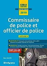 Commissaire de police et officier de police 2019 (Concours fonction publique)