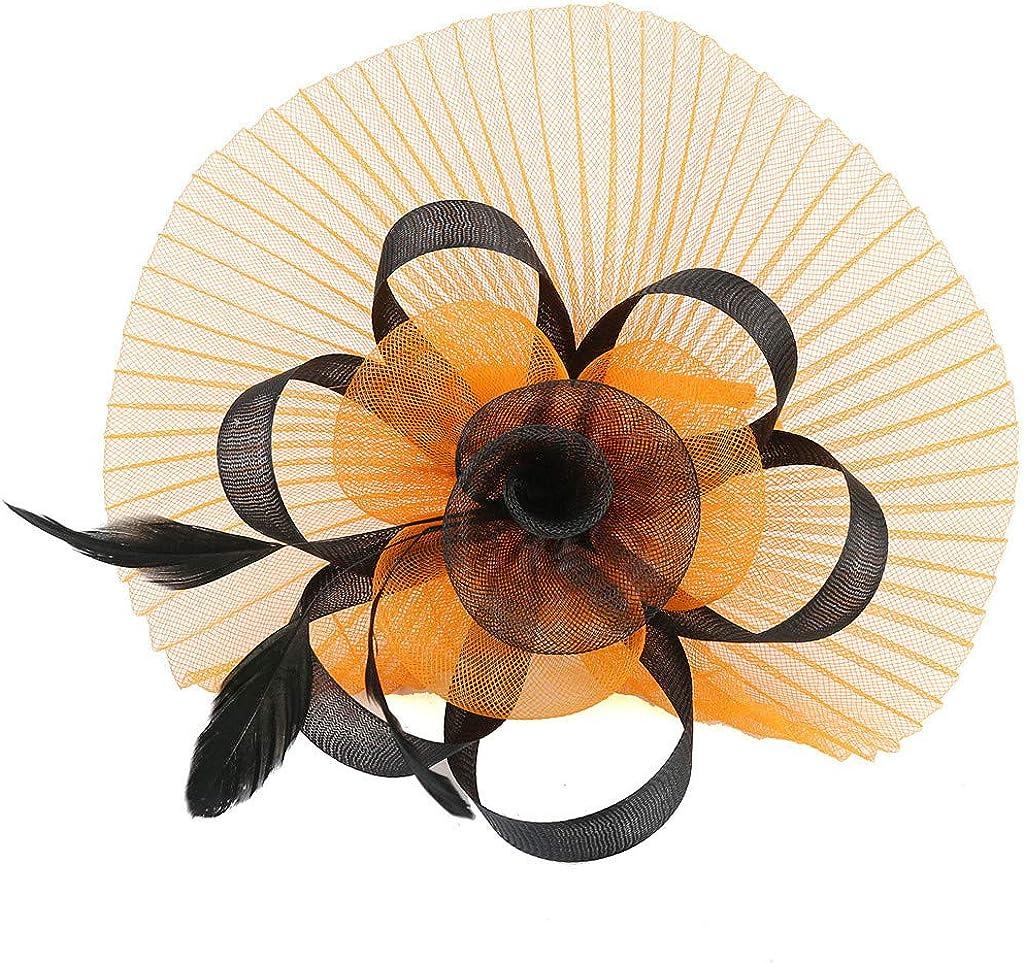 Arystk Women Headband Fascinator 25% OFF Hat Feather Ranking TOP19 Bridal Mes Cocktail