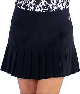 Jofit Apparel Women's Athletic Clothing Short Knife Pleat Skort for Golf & Tennis, Black