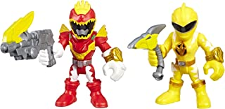 Playskool Heroes Power Rangers Red Ranger & Yellow Ranger