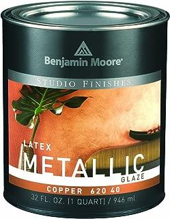 Benjamin Moore Qt Copper Metallic Latex Glaze