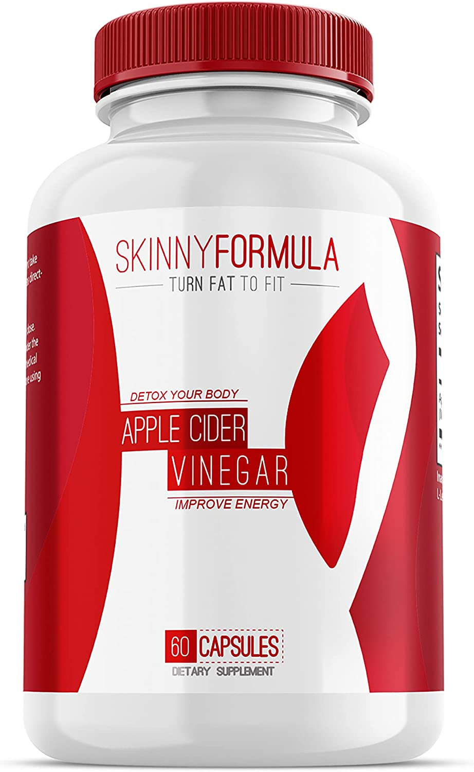 Apple Cider Vinegar - Fat Burner and Weight Loss Supplement Detox for Women and Men - 100% All Natural Apple Cider Vinegar Keto Weight Loss Pills - Powerful Cleanser & Appetite Suppressant - 1300mg
