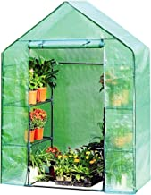Giantex Mini Portable Walk-in Plant Greenhouse for Outdoors/Indoors 4 Tier 8 Shelves Garden Green House