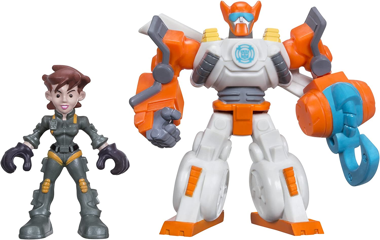 Playskool Heroes Transformers Rescue Bots Blades The Copter & Dani Burns Figure