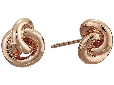 Kendra Scott Presleigh Stud Earrings (Rose Gold Metal) Earring