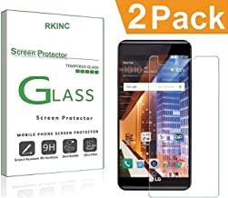 RKINC Screen Protector for LG Tribute HD, Tempered Glass Screen Protector[0.3mm, 2.5D][Bubble-Free][9H Hardness][Easy Installation][HD Clear] for LG Tribute HD(2 Pack)