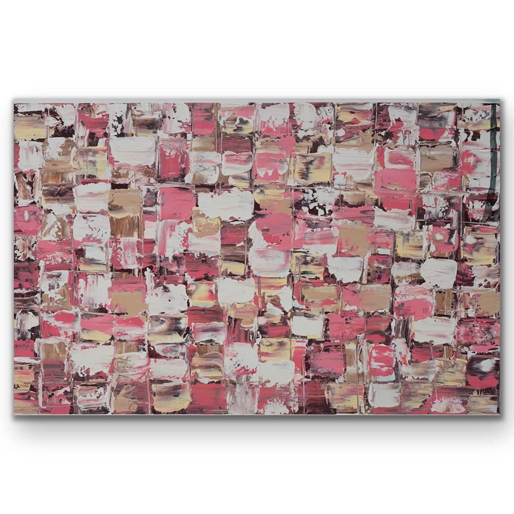 Limited time cheap sale Pastel Pink Tulsa Mall White Abstract Art X 17 70CM 100CM Print