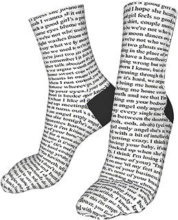 Sheep, Every Lyric de Harry Styles - Calcetines deportivos de senderismo para mujer, suaves, gruesos, cálidos, informales, de compresión