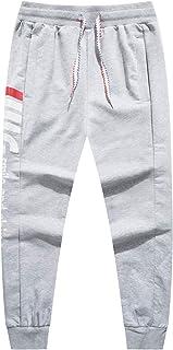 LAUSONS Pantalones Deportivos para Niño, Pantalón de Chándal Algodon