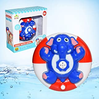 Beautymostar Beneficial Electric Toy Water Spray Baby Bath Turtle Steamer Elephant Penguin Fountain Toy in fine Style(None...