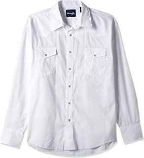 Wrangler Men's Long Sleeve Sport Western Snap Shirt