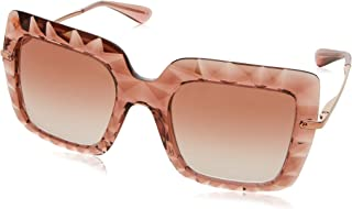 Dolce and Gabbana DG6111 314813 Pink DG6111 Square Sunglasses Lens Category 2 S