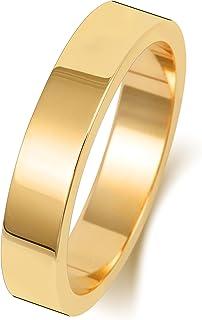 Anello Fede Nuziale Uomo/Donna 4mm in Oro giallo 9k (375) WJS188409KY