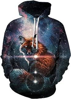 Unisex 3D Pattern Print Athletic Pullover Hoodies Hooded Sweatshirts