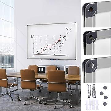 60x90cm qualit/é premium tailles diverses Tableau en li/ège Office Marshal/® s/érie PRO cadre en aluminium