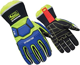 Ringers Gloves R-33 Extrication Gloves, Cut-Resistant Gloves with KevLoc Grip, Small