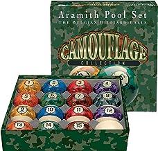 Aramith colección camuflaje juego de bolas de billar