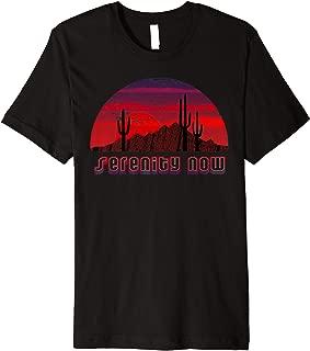 Serenity Now - Desert Skyline Premium T-Shirt