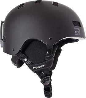 Retrospec Traverse H1 Ski & Snowboard Helmet, Convertible...