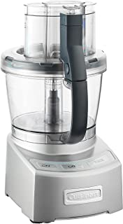 Cuisinart FP-12N Elite Collection Food Processor, White 12-Cup Silver FP-12DC