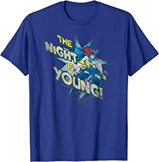 Batgirl The Night is Young T Shirt
