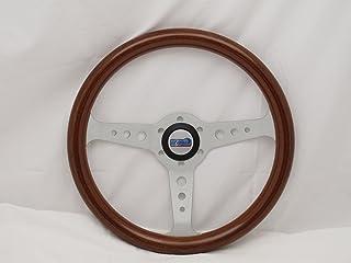Sport Line 350 mm Wood Marine Boat Steering Wheel - Mille Miglia - Part # 30117 (WOH)