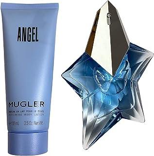 Thierry Mugler Angel 2 Pc. Gift Set (Eau De Parfum Spray 1.7 Oz + Perfuming Body Lotion 3.5 Oz), 51 ml Pack of 1