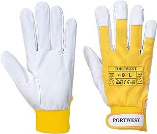 yellow work glove