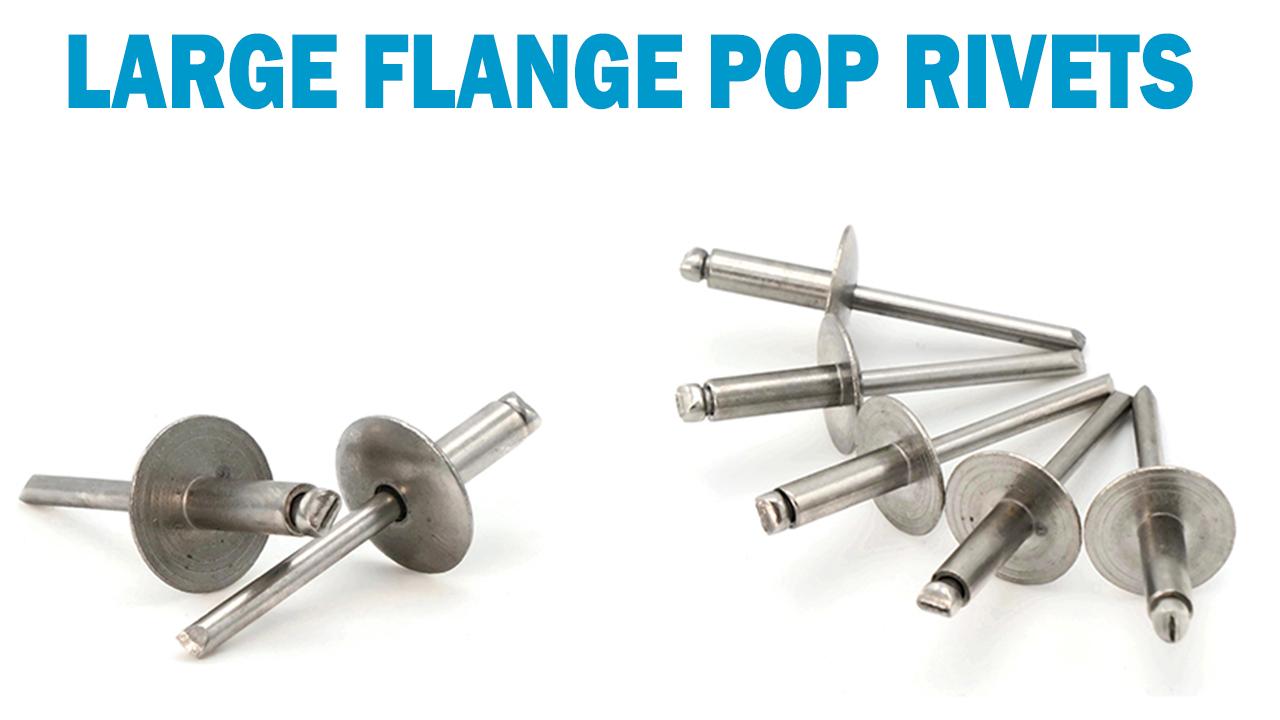#6-7 3//16 Diameter x 7//16 Grip SNUG Fasteners SNG180 100 Qty 304 Stainless Steel Blind Rivets