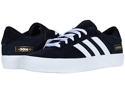 adidas Skateboarding Matchbreak Super (Core Black/Footwear White/Gold Metallic) Shoes