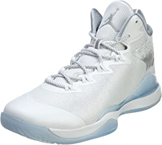 Nike air Jordan Super.Fly 3 Mens hi top Basketball Trainers 743665 Sneakers Shoes (UK 10 US 11 EU 45, White Reflective Silver Wolf Grey 109)