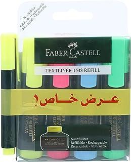 Faber-Castell HIGHLIGHTER SET of 5 PCS
