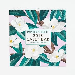 Art Grid Wall Calendar