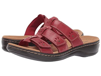 Clarks Leisa Spring (Red Leather) Women