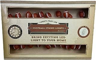 Merchsource Twenty Foot Miniature Football Party Lights Battery Operated