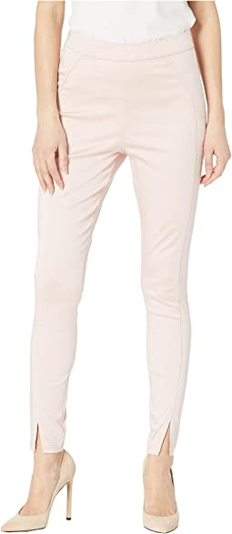 Sateen High-Waist Skimmer Leggings