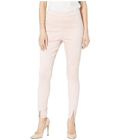 HUE Sateen High-Waist Skimmer Leggings (Barely Pink) Women