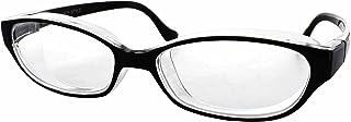 名古屋眼鏡 花粉メガネ 目立たない 曇らない おしゃれ スカッシー スタイル ブラック レギュラー (NEW 曇り止めコート仕様) 8732-01