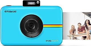 Polaroid Snap Touch - Cámara digital con impresión instantánea y pantalla LCD con tecnología Zero Zink azul